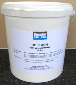 Hessler HP 9 ASM Naturkalk-Ansetzmörtel 10 kg
