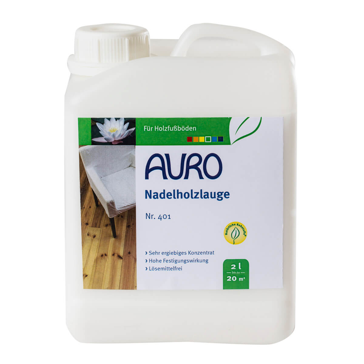 AURO Nadelholzlauge Nr. 401 - 2 L