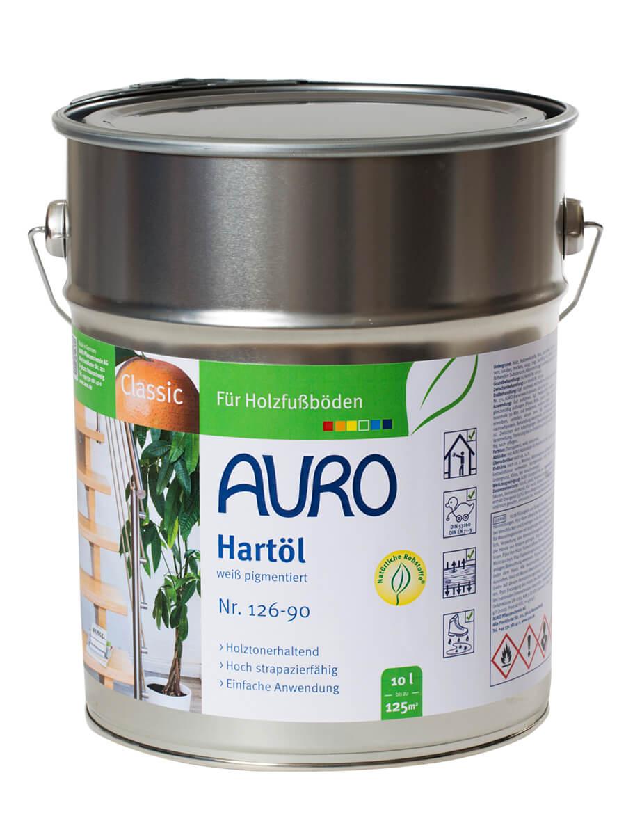 AURO Hartöl-Weiß pigmentiert Nr. 126-90