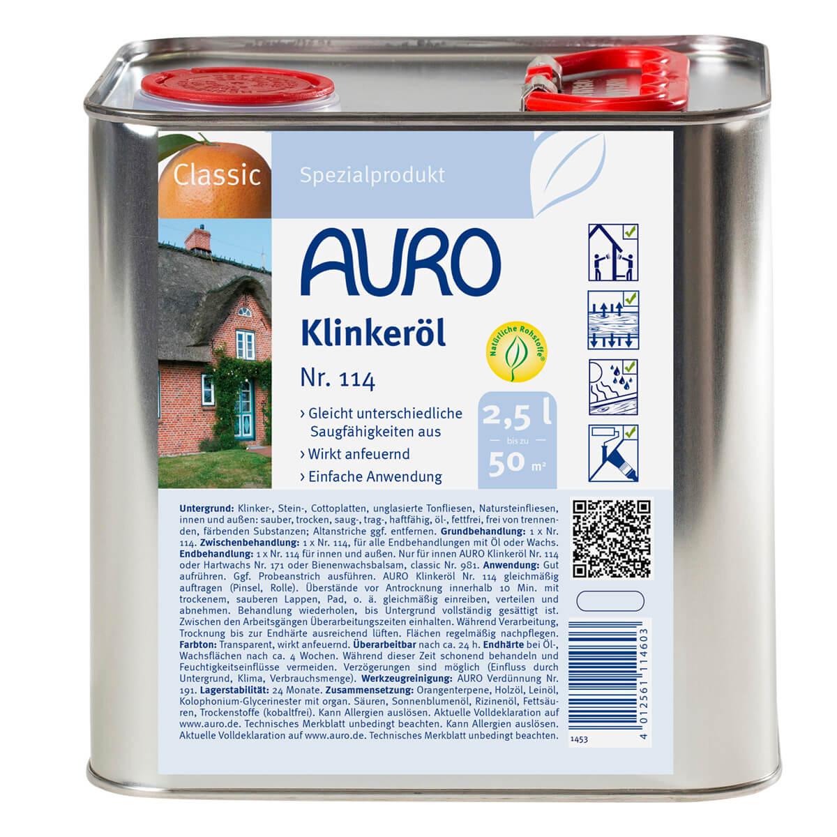 AURO Klinkeröl Nr. 114