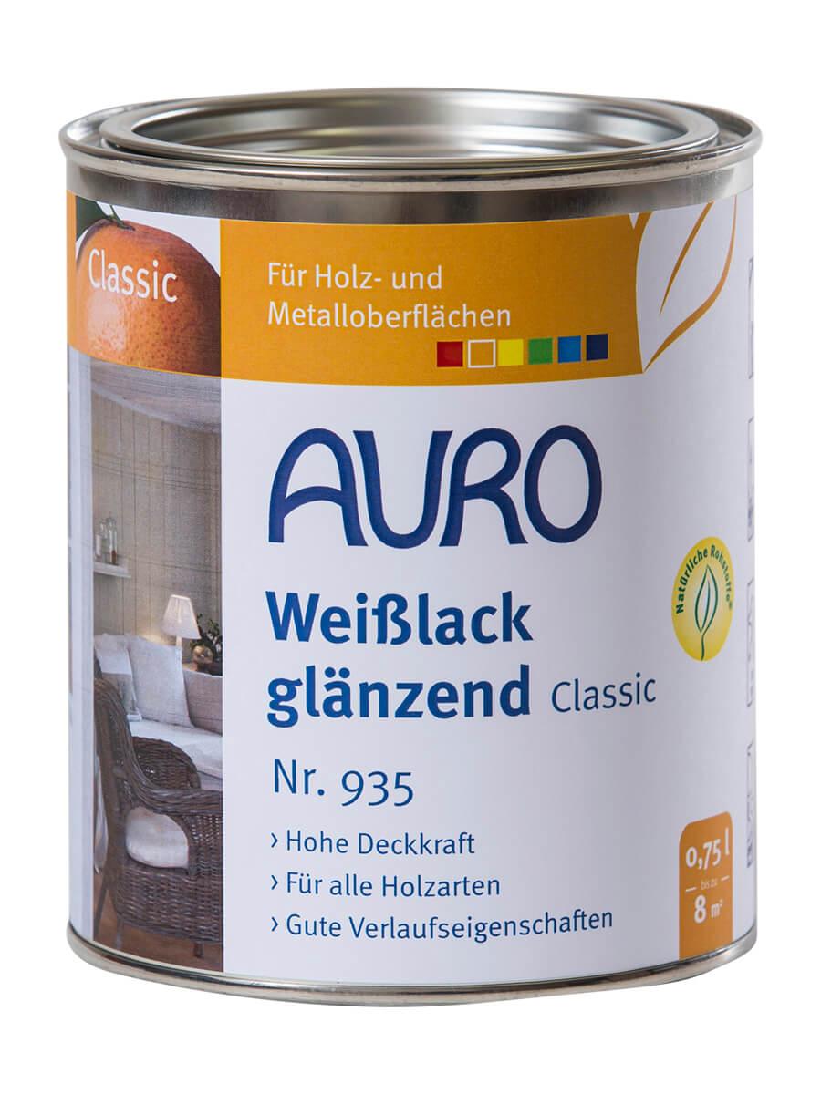 AURO Weißlack, glänzend, Classic Nr. 935