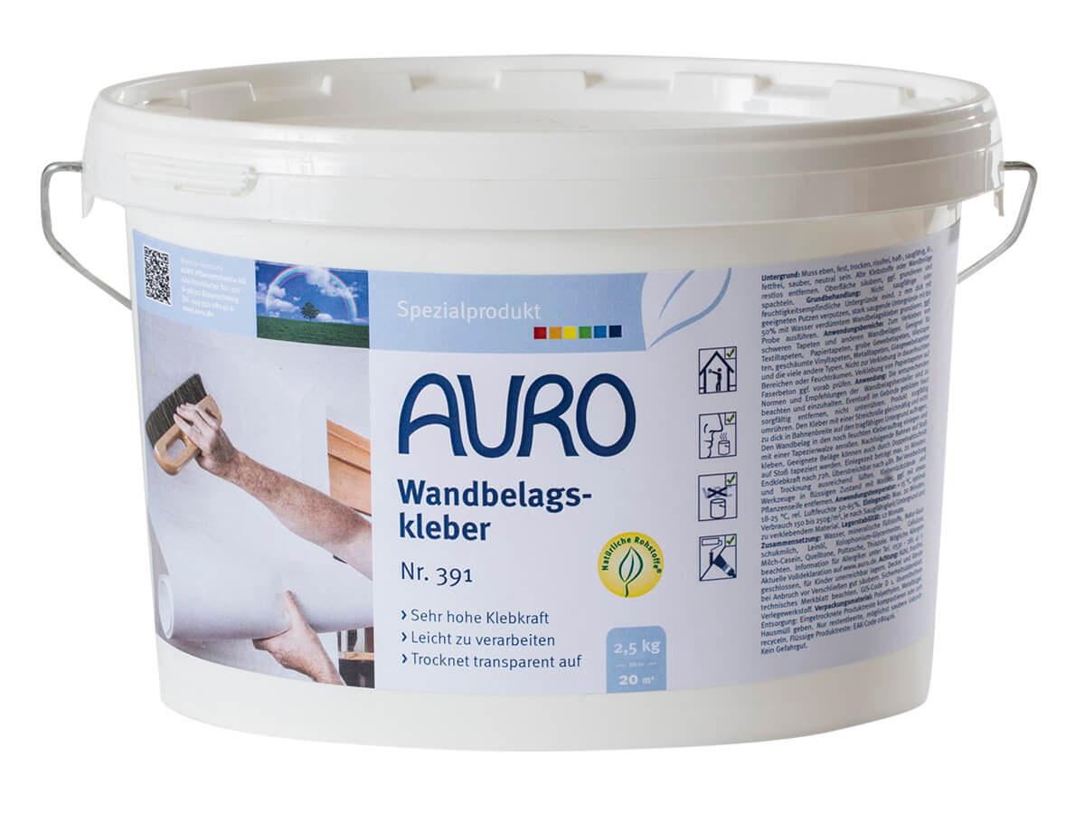 AURO Wandbelagskleber Nr. 391 - 2,5 kg