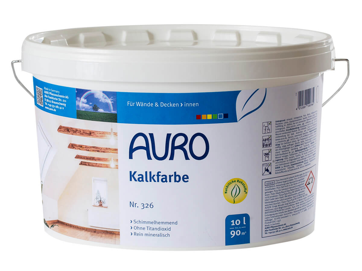 AURO Kalkfarbe Nr. 326 - 10 L
